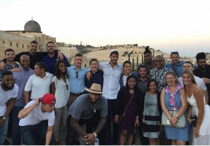 İsrail'deki NBA oyuncularına açık mektup