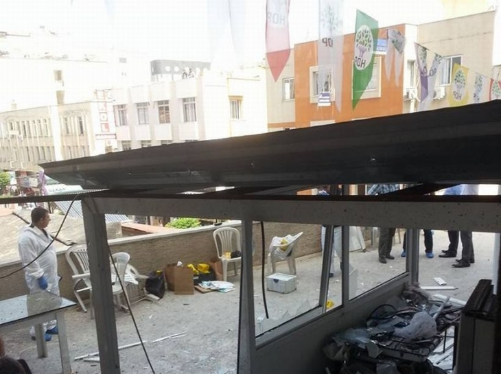 HDP bombalı saldırıları meclise taşıdı