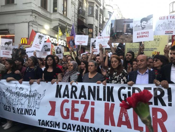 Gezi'nin birinci yıl dönümü eylemi davasında mahkemeden ceza kararı