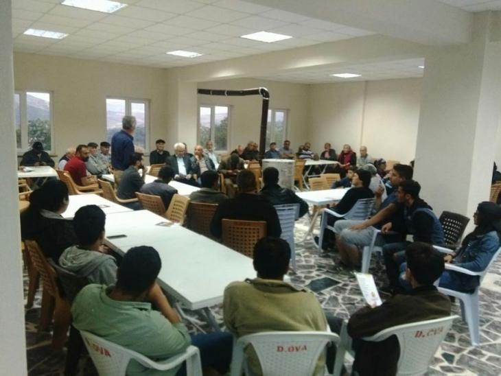 EMEP Malatya'da halk toplantıları düzenledi