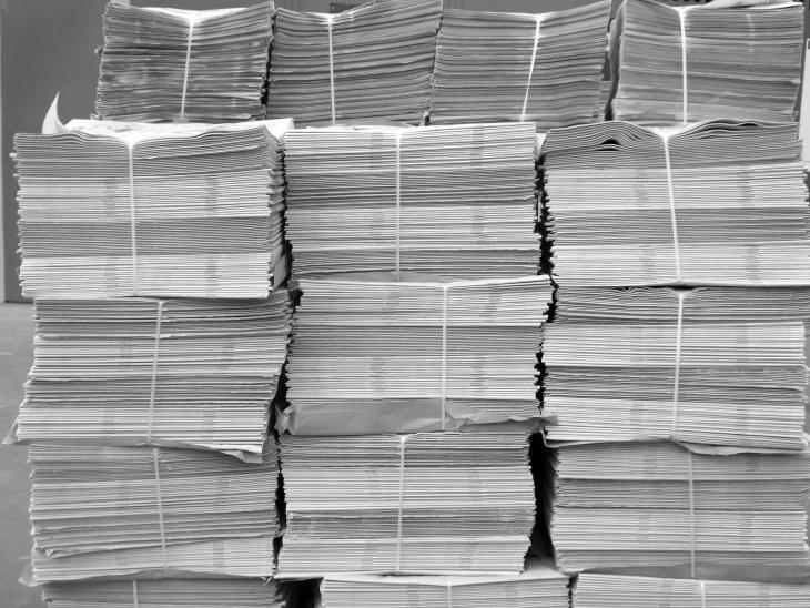 Kağıt krizi nedeniyle 300 gazete ve matbaa kapandı