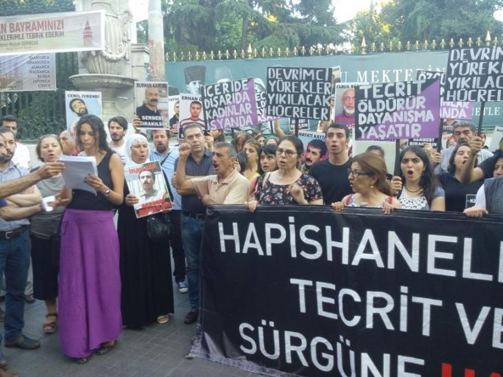 Kadın mahpuslara dönük sevk ve sürgün protesto edildi