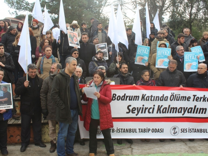 Bodrum katındaki yaralılar için 2 ilde eylem: Bakanlığın görevi savaşı desteklemek değildir