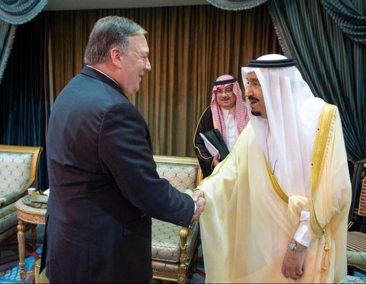 ABD ve Suudi Arabistan'dan İran'a karşı sert mesajlar