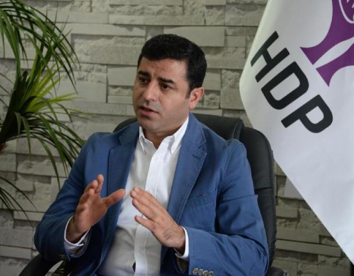Demirtaş: Öcalan'la konuşmak savaşmaktan kötü olamaz