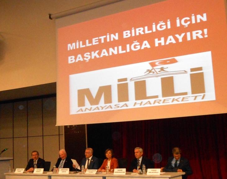 Abdüllatif Şener: Anayasa paketi baştan sona ucube