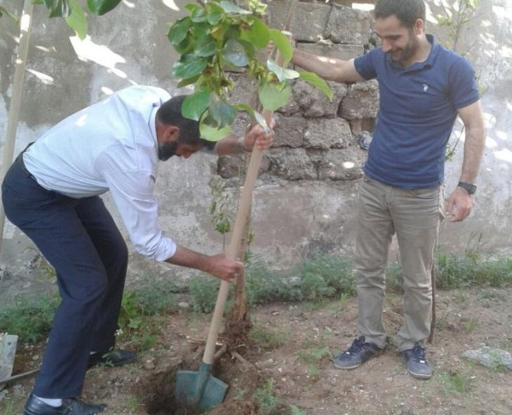 'Acele kamulaştırma' bölgesinde ağaç kurtarma seferberliği