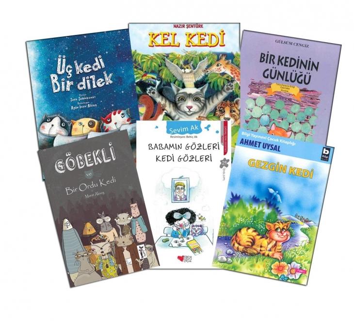 Edebiyatımızda 'kedi'li çocuk kitapları