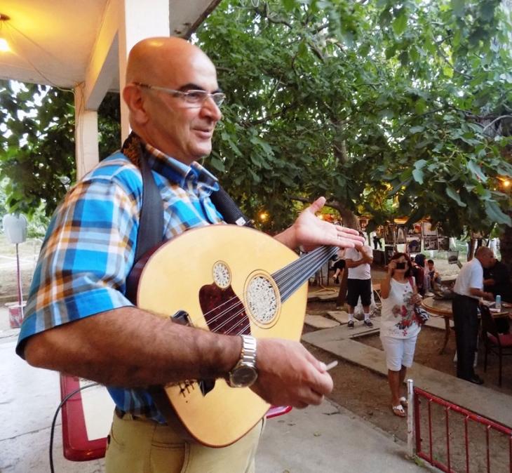 Udi Yervant'ın udu ve sesi Kamp Armen'de yankılandı