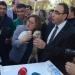 Fatma Şahin, şempanze Can'ın darbelerinden son anda kurtuldu