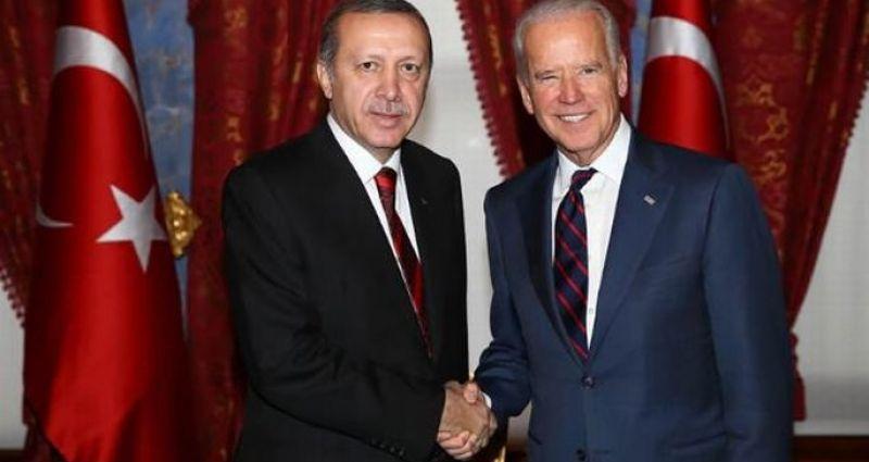Erdoğan ile Biden görüştü