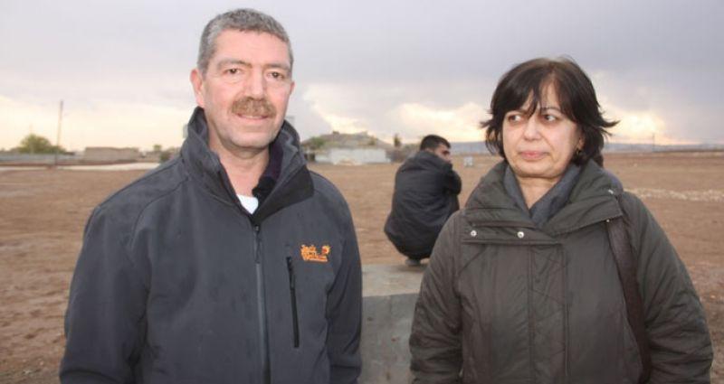 Topladıkları yardımları Suruç'a getiren DİDF Heyeti: