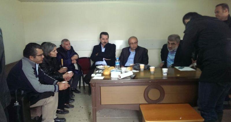 EMEP Genel Başkanı bakanlarla görüştü