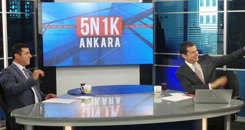 Demirtaş'ın katılacağı programın saati gecenin sonuna alındı
