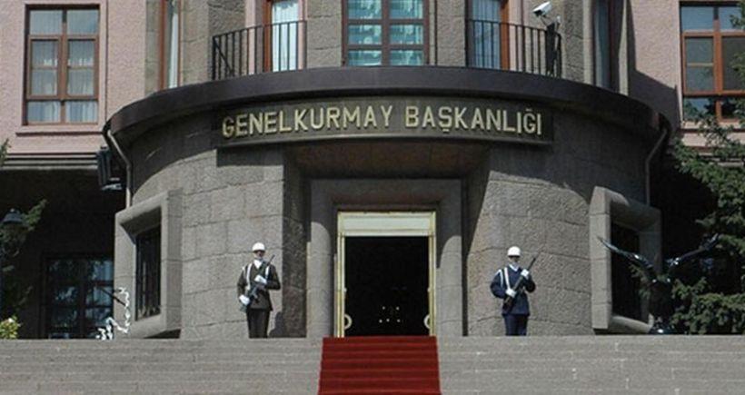 TSK: Hudut komutanlığı üs bölgesine ateş açıldı