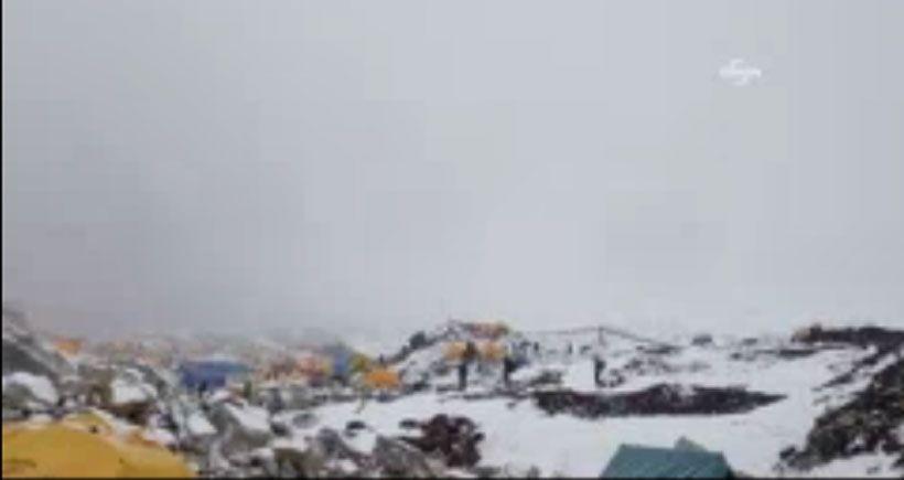 Nepal'de ölü sayısı 3 bin 200'ü aştı: Çığın düşme anı kamerada
