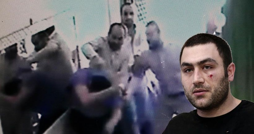 AKP'li vekilin elini sıkmayan esnafı tekme tokat dövdüler