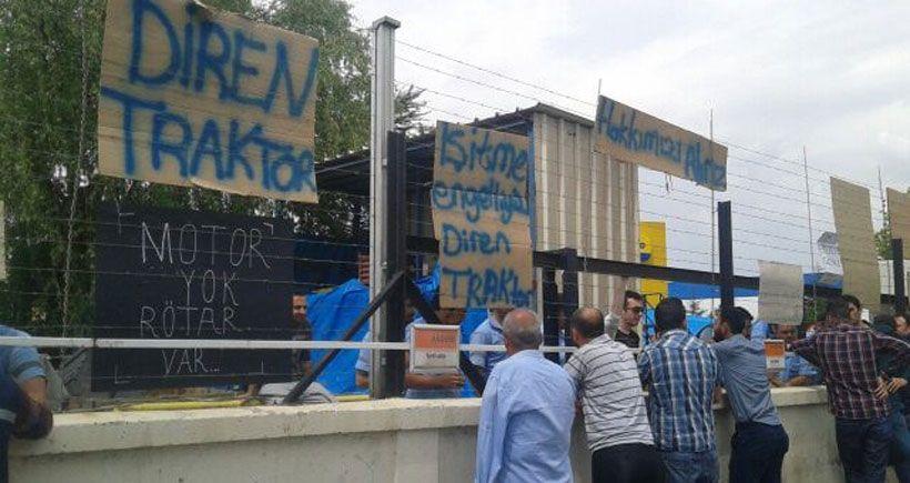 Türk Traktör işçileri: Hep birlikte kazanacağız