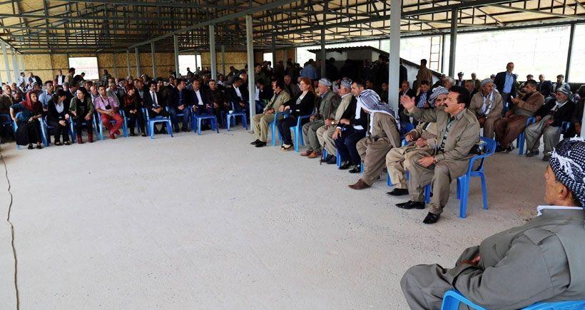 Korucubaşı Alihan Babat'tan barış yemeği: Artık PKK'yle  savaşmak  istemiyoruz