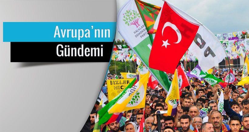 Erdoğan'a karşı en  etkili muhalefet HDP