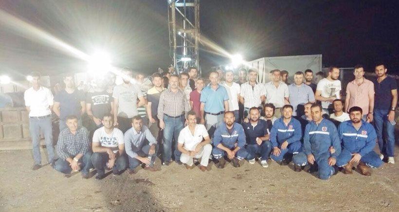 İş bırakan TPIC işçileri gözaltına alındı