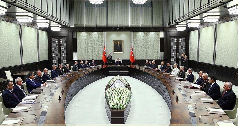 MGK toplantısı sona erdi: IŞİD, PYD ve Paralel Devlet vurgusu yapıldı