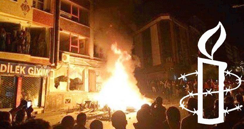 Af Örgütü: 6-8 Ekim'de polis şiddeti, ölüm seviyesine çıktı