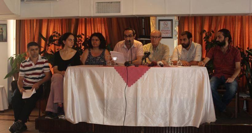 Gazetecilerden sansüre karşı dayanışma çağrısı