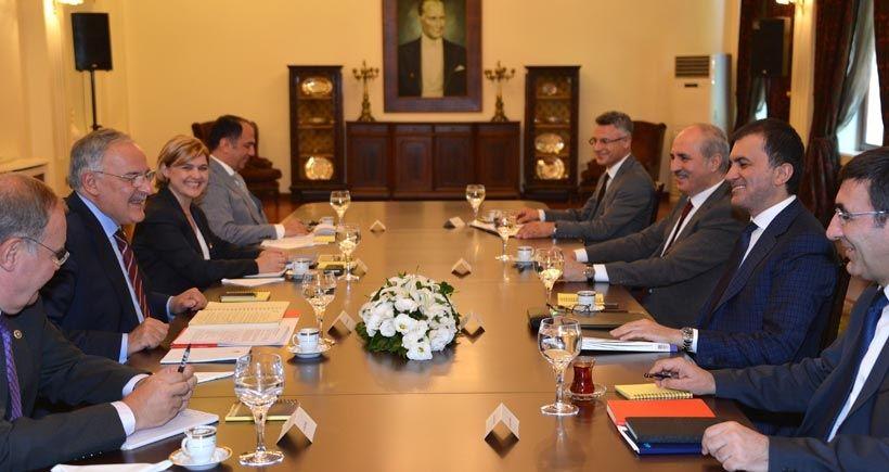 AKP-CHP heyet görüşmeleri bitti, top liderlerde