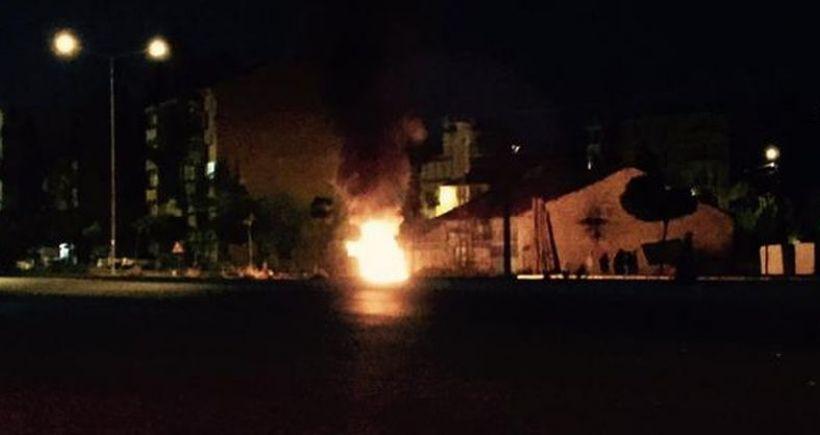 Yüksekova'da saldırı üzerine halk sokağa indi