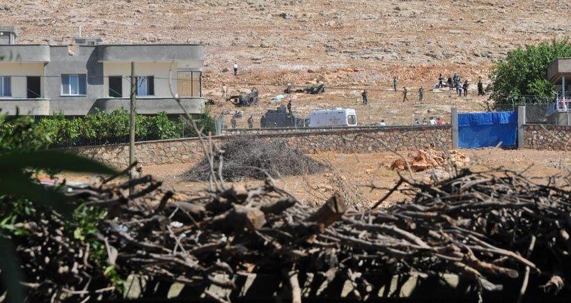 Mardin Dargeçit'te biri emniyet amiri 4 polis hayatını kaybetti
