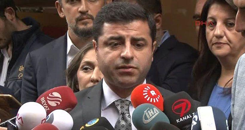 Demirtaş Ahmet Hakan'ı ziyaret etti: Hiçbir gazeteci ve medya grubu geri adım atmamalı