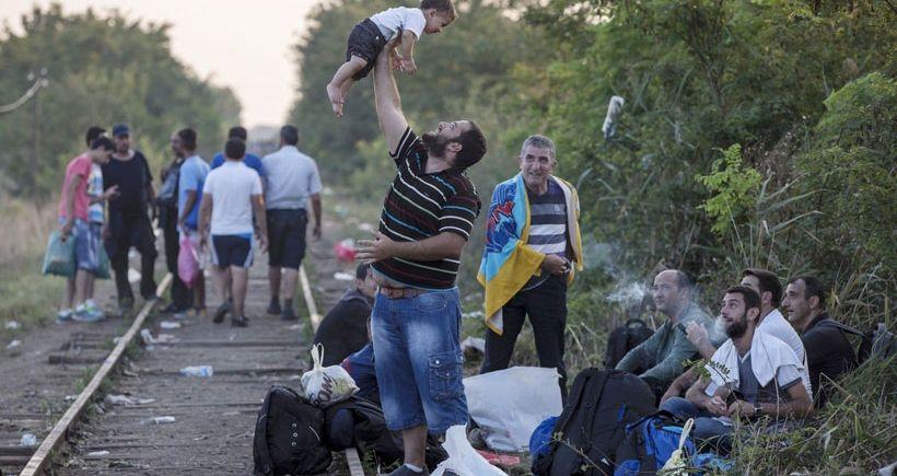 Almanya'dan mülteci portreleri