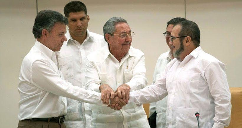 Kolombiya'da  barış 'geri dönüşü  olmayan' yolda