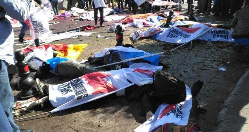 'Barış çığlıklarına bombayla yanıt verildi'