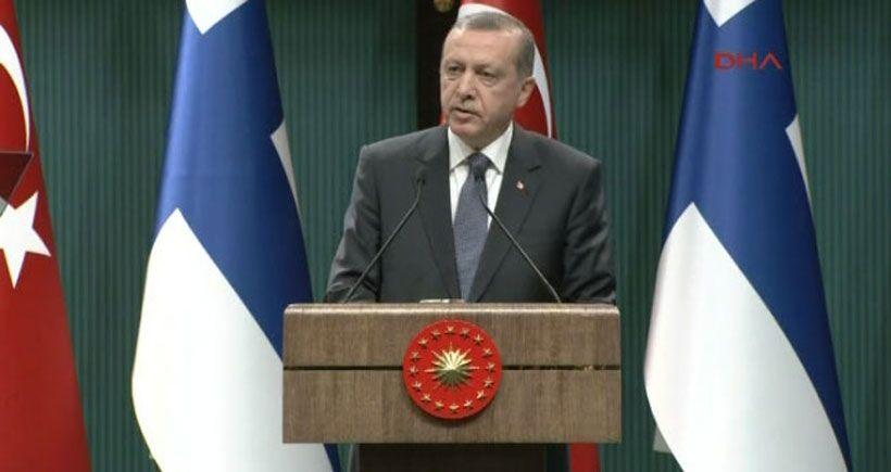 Erdoğan': Bu tür olayda hemen istifa mekanizmasını çalıştırma anlayışı doğru değildir