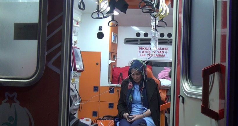 Çankırı'da kimyasal madde sızıntısı 100 işçi hastanede