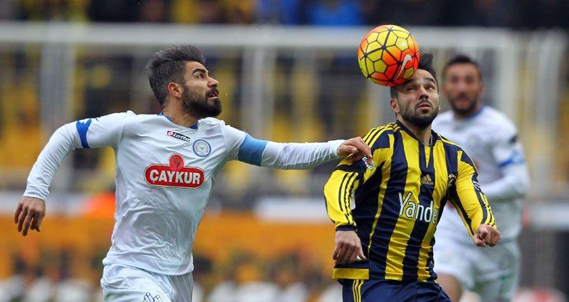 Fenerbahçe - Çaykur Rizespor maçı kaç kaç CANLI TAKİP izle - sporcu adres