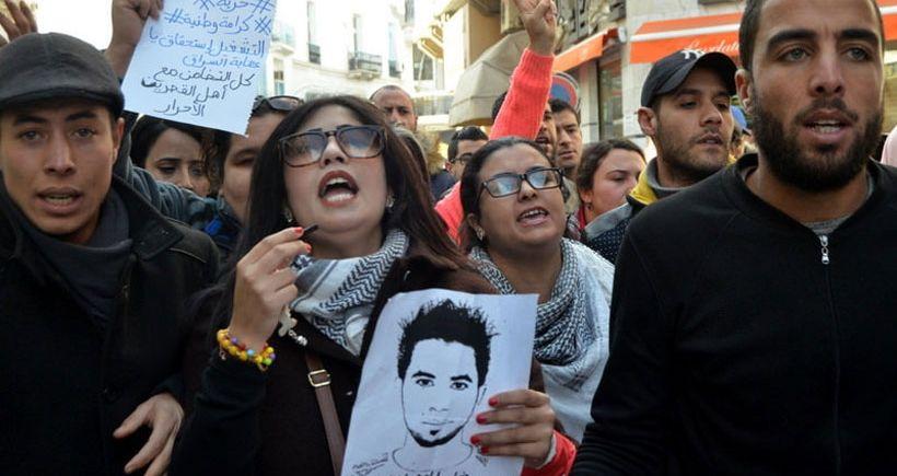 Tunus halkı yarım kalan  devrimini tamamlamaya kararlı
