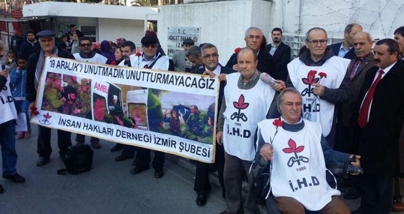 19 Aralık Katliamı protesto edildi