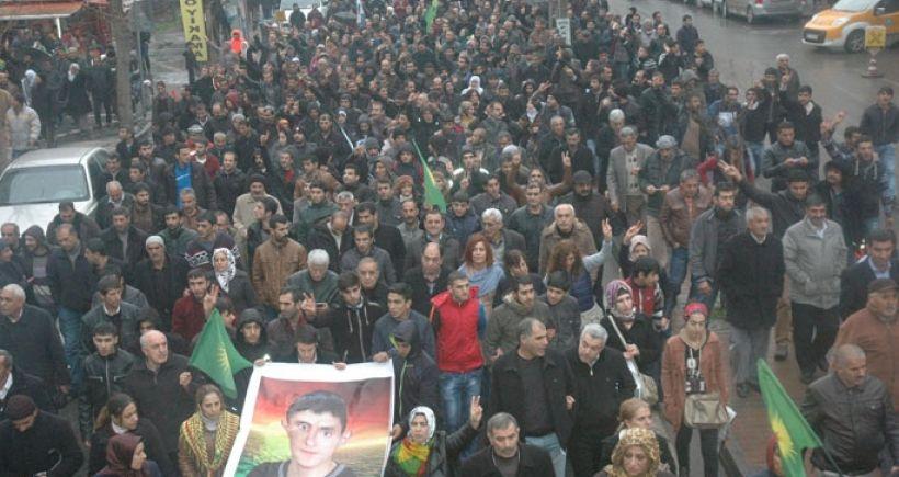 Diyarbakır Abdulkadir Çakmak için yürüdü
