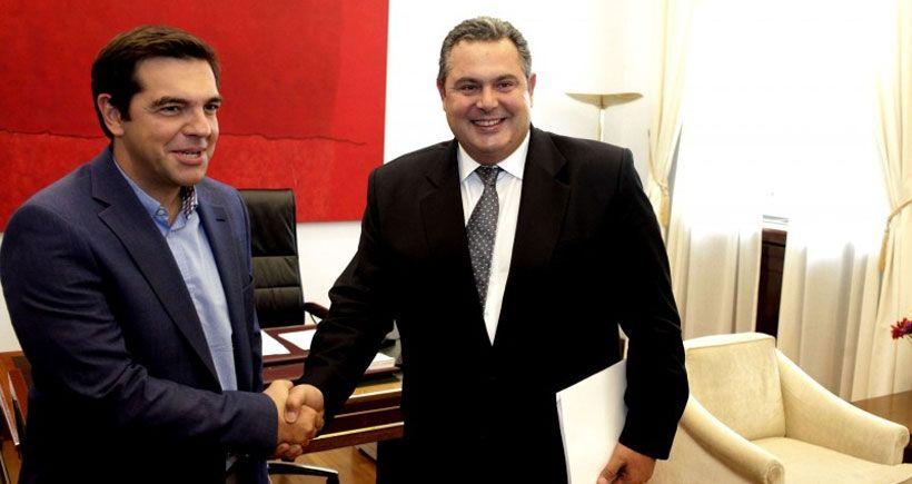 Yunanistan'da koalisyon anlaşmasına varıldı