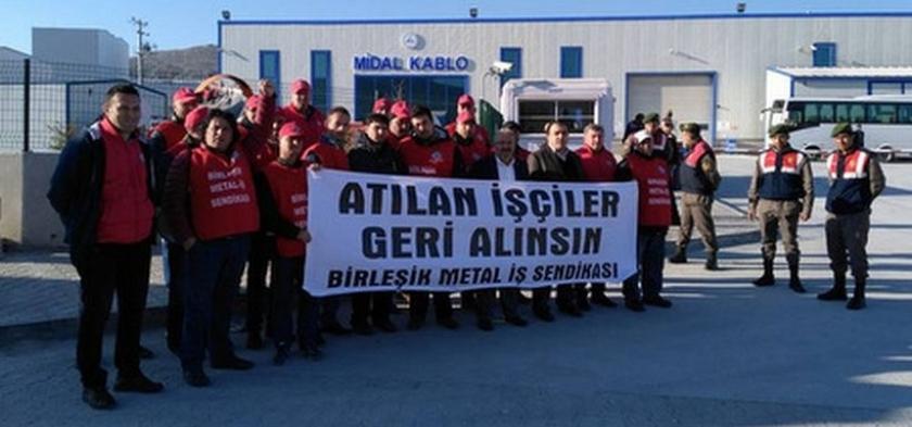 Midal Kablo'da sendikasızlaştırmaya devlet desteği