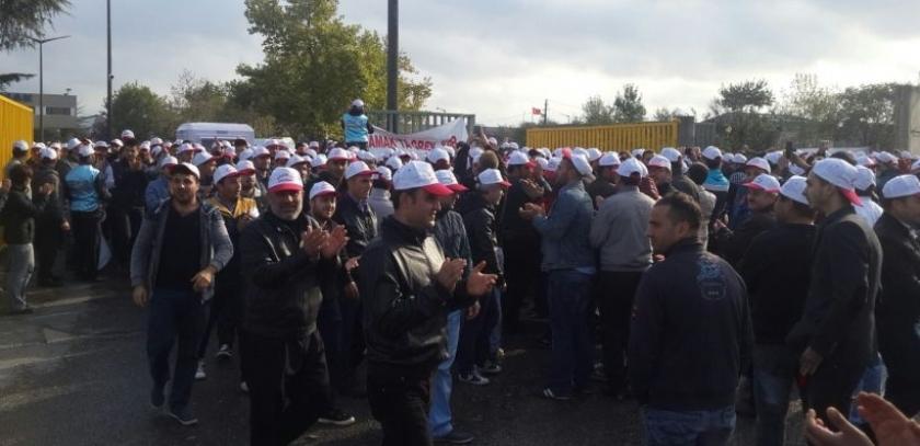 Gamak işçileri grevin ardından 2. adıma hazırlanıyor: Ek zam verilmesi şart!