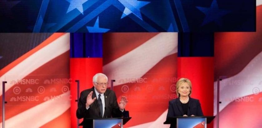 Sanders, Washington, Alaska ve Hawaii'de fark attı