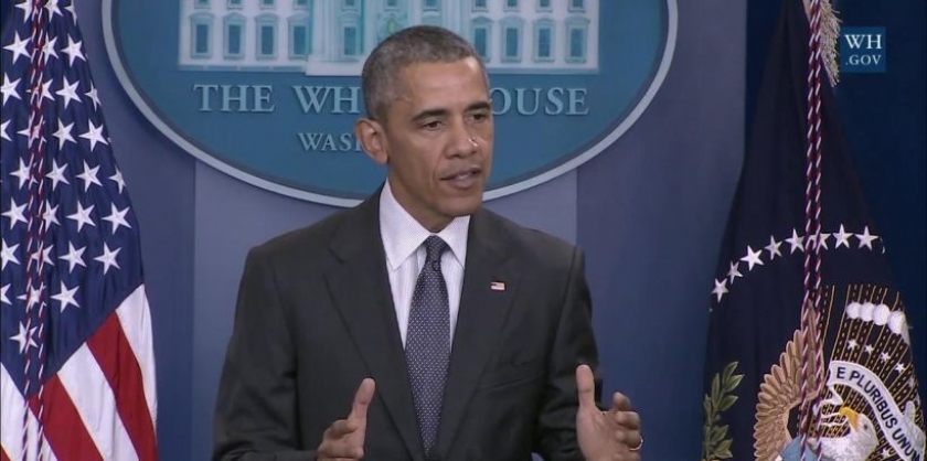 Obama, 'Soykırım' yerine 'Büyük felaket' dedi