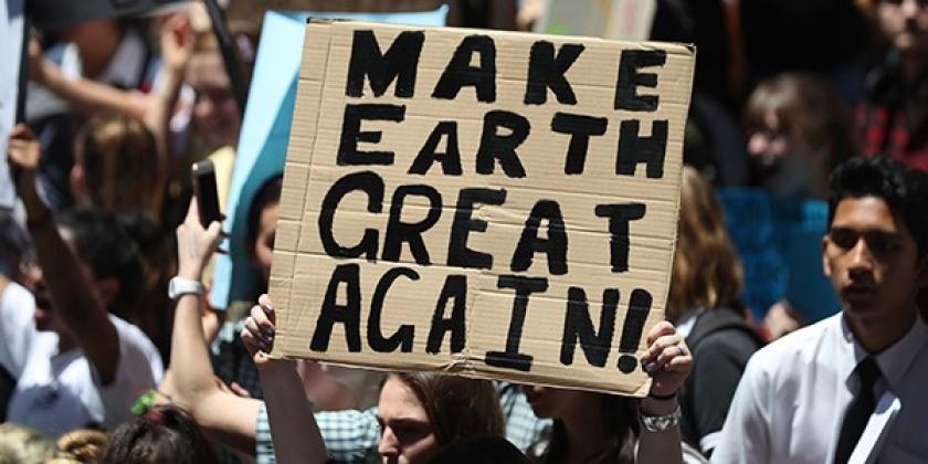 Avustralyalı öğrencilerin iklim değişikliği boykotu