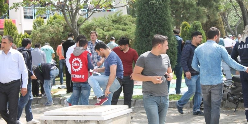 Dostcam işçilerinden 1 Mayıs öncesi örgütlenme çağrısı: Kölece çalışmak kaderimiz değil