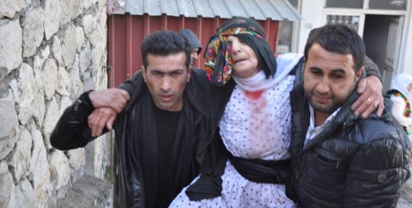 Şırnak'ta Cizre ve Silopi için yapılan yürüyüşe polis saldırdı: 2 yaralı