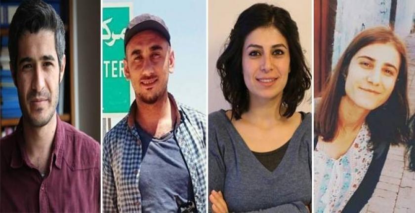 Nusaybin'de gözaltına alınan 4 gazeteci serbest bırakıldı